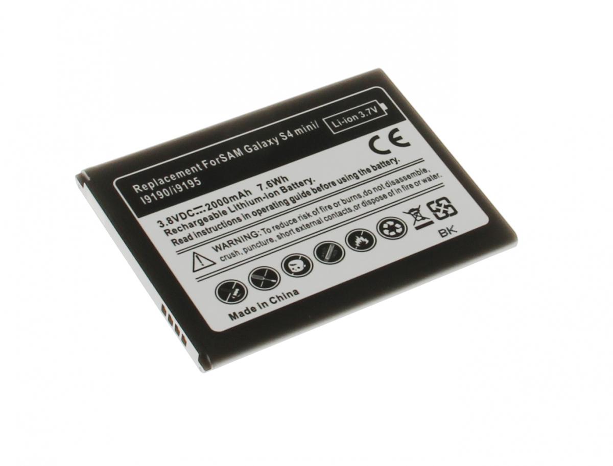 insmat li ion battery samsung galaxy s4 mini 1900m batteries mobile phone accessories insmat. Black Bedroom Furniture Sets. Home Design Ideas