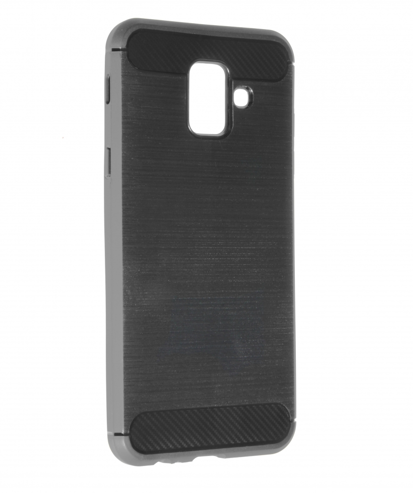 CARBON AND STEEL STYLE BACK COVER GALAXY A6 (2018)