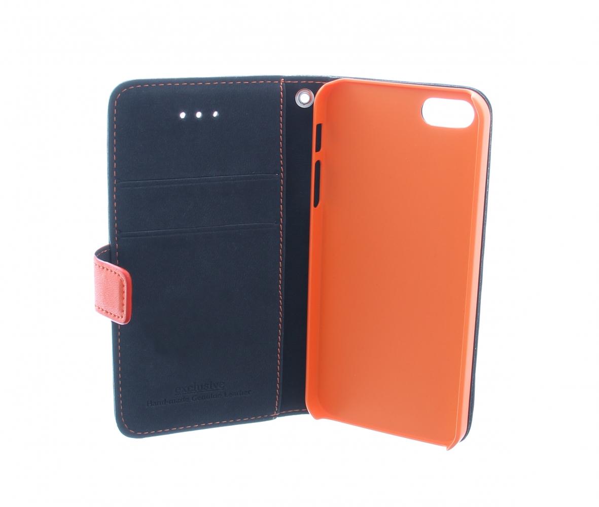 sale retailer 4c656 cd03d Exclusive Flip Case for iPhone 5/5S Black/Orange - iPhone tuotteet ...