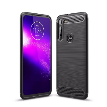 CARBON & STEEL STYLE COVER MOTOROLA G8