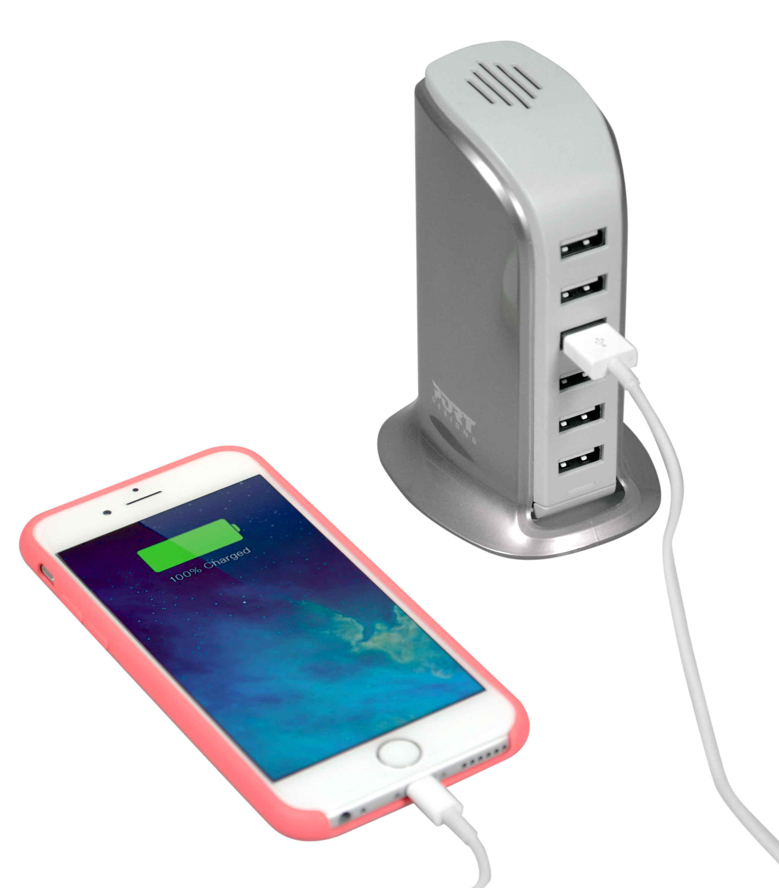 Iphone Wall Charger: USB Wall Charger 8A
