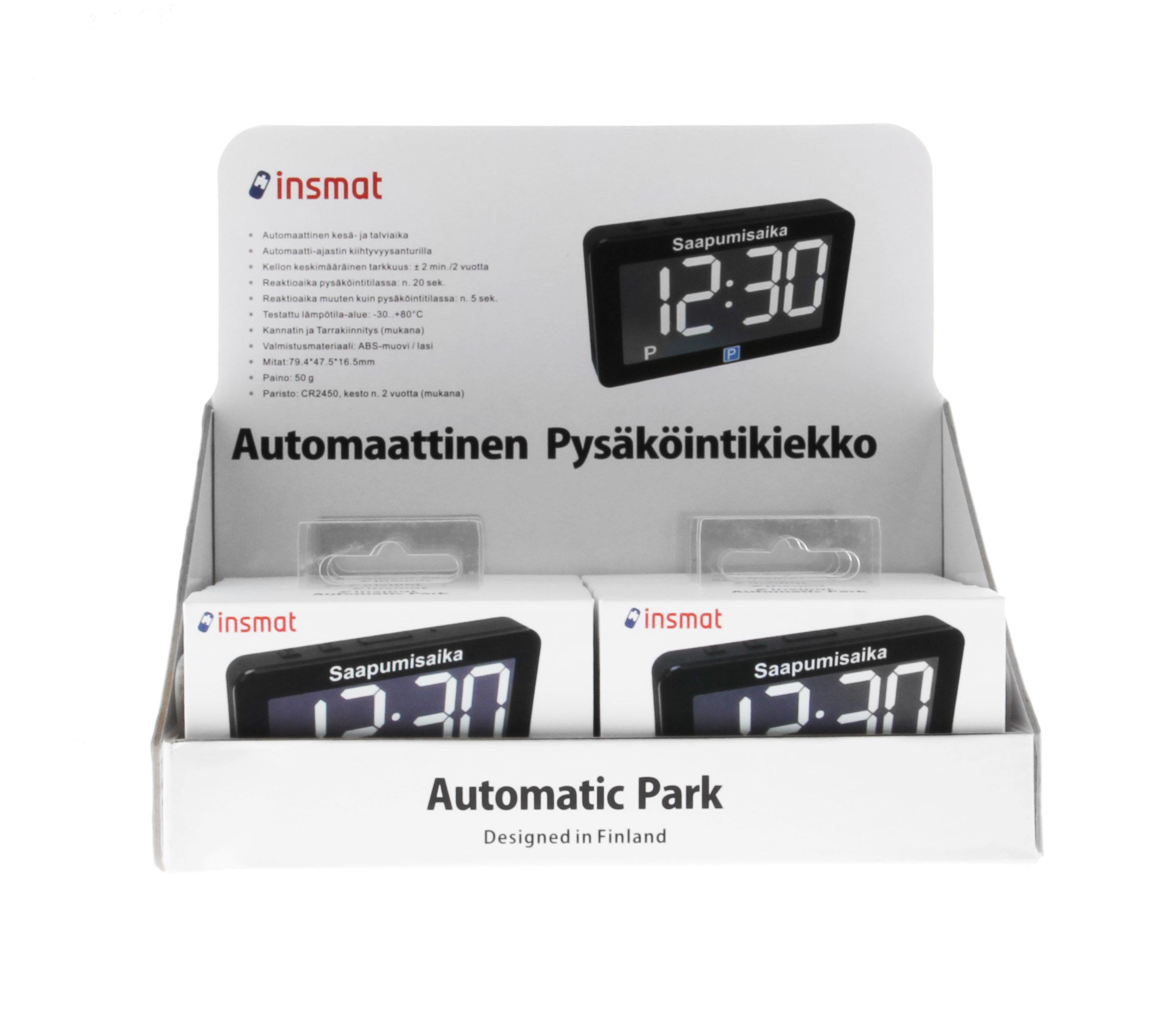INSMAT AUTOMATIC PARK TABLE STAND - Automaattinen Parkkikiekko - Insmat 8db1c8d130